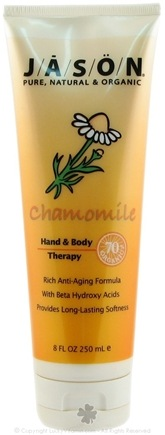 DROPPED: Jason Natural Products - Chamomile Hand and Body Therapy Lotion - 8 oz.
