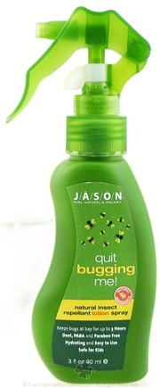 DROPPED: Jason Natural Products - Quit Bugging Me Insect Repellant Lotion Spray - 3 oz. CLEARANCE PRICED