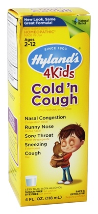 Hylands - 4Kids Cold'n Cough - 4 oz.