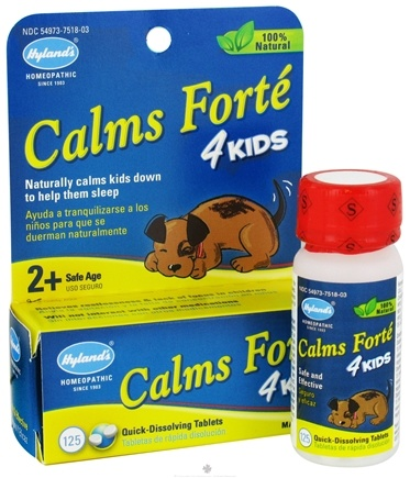 DROPPED: Hylands - Calms Forte 4 Kids - 125 Tablets
