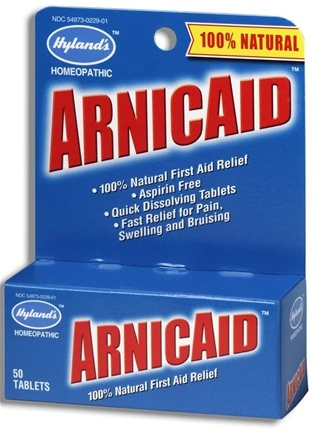 DROPPED: Hylands - ArnicAid - 50 Tablets
