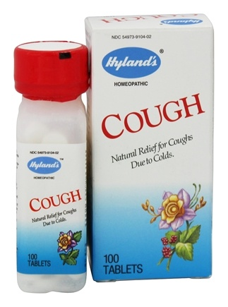 DROPPED: Hylands - Cough - 100 Tablets