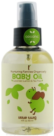 Little Twig - Baby Oil Organic Lavender, Lemon & Tea Tree - 4 oz.