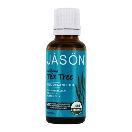Jason Natural Products - Purifying Tea Tree 100% Organic Oil - 1 oz.