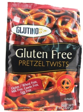 DROPPED: Glutino - Gluten Free Pretzel Twists Unsalted - 8 oz.