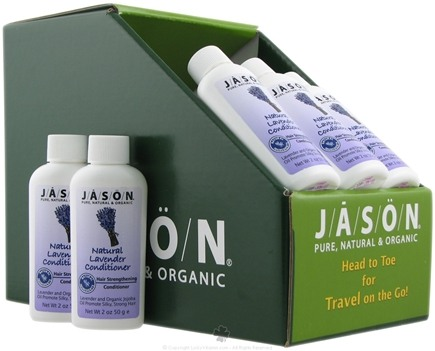 DROPPED: Jason Natural Products - Natural Conditioner Travel Size Lavender - 2 oz. CLEARANCE PRICED