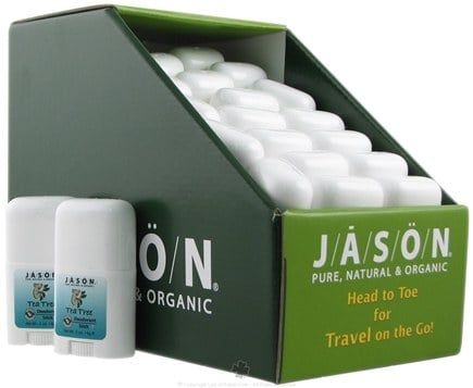 DROPPED: Jason Natural Products - Tea Tree Deodorant Stick Travel Size - 0.5 oz.
