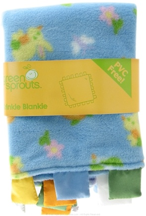 DROPPED: Green Sprouts - Krinkle Blankie PVC-Free