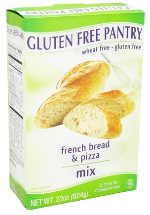 DROPPED: Glutino - Gluten Free Pantry French Bread & Pizza Mix - 22 oz. CLEARANCE PRICED