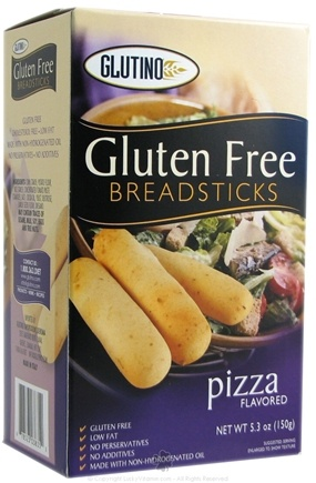 DROPPED: Glutino - Gluten Free Breadsticks Pizza - 5.3 oz.