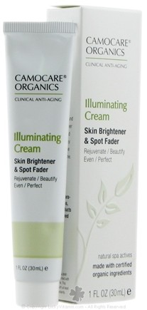 DROPPED: CamoCare Organics - Illuminating Cream Skin Brightener and Spot Fader - 1 oz.