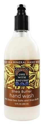 One With Nature - Dead Sea Mineral Hand Wash Shea Butter - 12 oz.