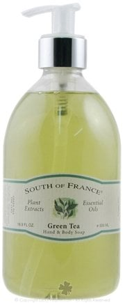 DROPPED: South of France - Hand and Body Soap Green Tea - 16.9 oz.