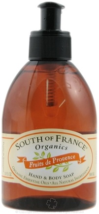 DROPPED: South of France - Hand and Body Soap Fruits de Provence - 10 oz.