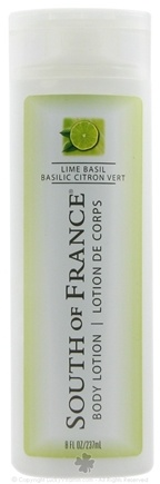 DROPPED: South of France - Body Lotion Lime Basil - 8 oz. CLEARANCE PRICED