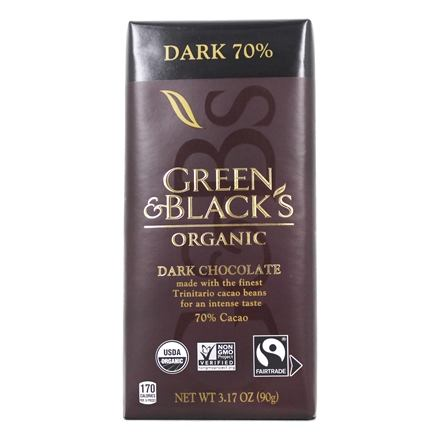 Green & Black's Organic - Dark Chocolate Bar 70% Cocoa - 3.5 oz.