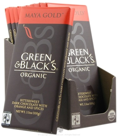 DROPPED: Green & Black's Organic - Maya Gold Dark Chocolate Bar - 3.5 oz.