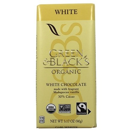 Green & Black's Organic - White Chocolate Bar 30% Cocoa - 3.5 oz.