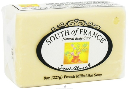 DROPPED: South of France - French Milled Vegetable Bar Soap Sweet Almond - 8 oz.