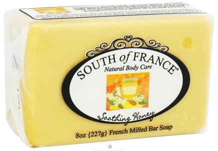 DROPPED: South of France - French Milled Vegetable Bar Soap Soothing Honey - 8 oz.
