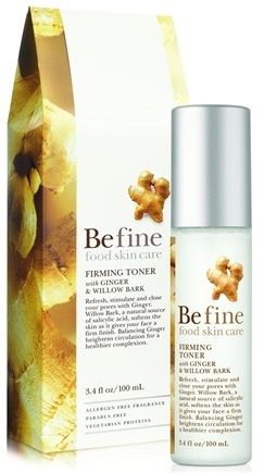 DROPPED: Be Fine Food Skin Care - Firming Toner - 3.4 oz.