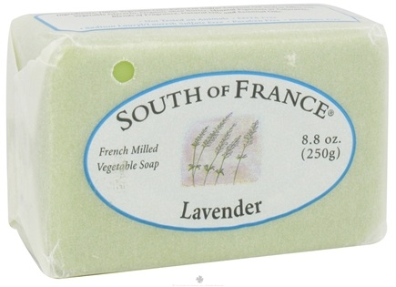 DROPPED: South of France - French Milled Vegetable Bar Soap Relaxing Lavender - 8 oz.