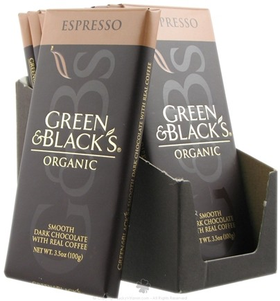 DROPPED: Green & Black's Organic - Espresso Dark Chocolate Bar - 3.5 oz.