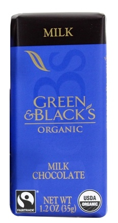 Green & Black's Organic - Impulse Bar Milk Chocolate 34% Cocoa - 1.2 oz.