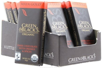 DROPPED: Green & Black's Organic - Impulse Bar Maya Gold Dark Chocolate - 1.2 oz. CLEARANCE PRICED