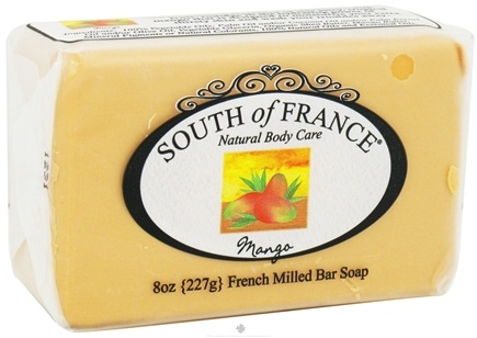 DROPPED: South of France - French Milled Vegetable Bar Soap Mango - 8 oz.