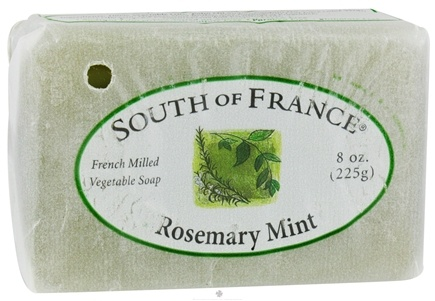 DROPPED: South of France - French Milled Vegetable Bar Soap Rosemary Mint - 8 oz.