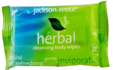 DROPPED: Jackson Reece - Herbal Baby Wipes - 10 Wipe(s)