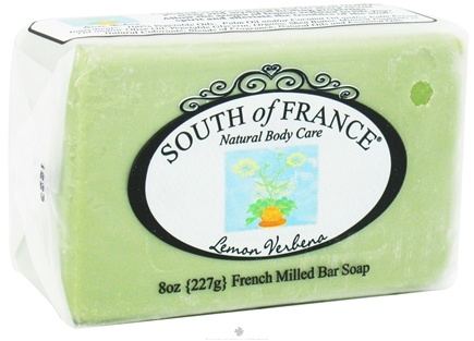 DROPPED: South of France - French Milled Vegetable Bar Soap Lemon Verbena - 8 oz.