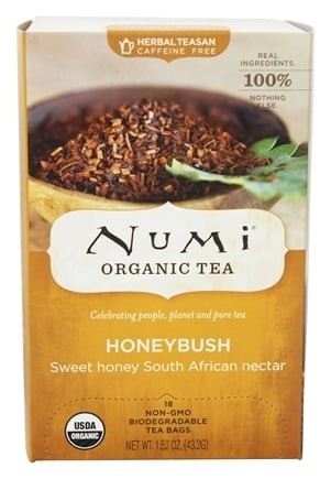 Numi Organic - Herbal Tea Honeybush - 18 Tea Bags