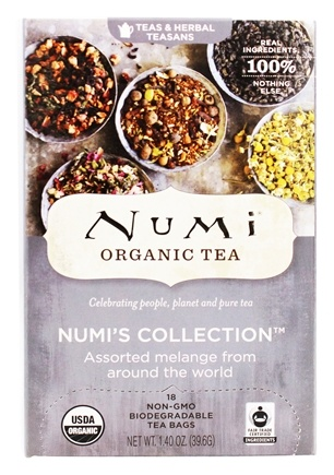 Numi Organic - Assorted Melange Numi's Collection Tea - 18 Tea Bags