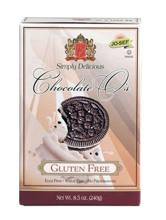 DROPPED: Josefs Gluten Free - O's Sandwich Cookies Chocolate - 8.5 oz. CLEARANCE PRICED