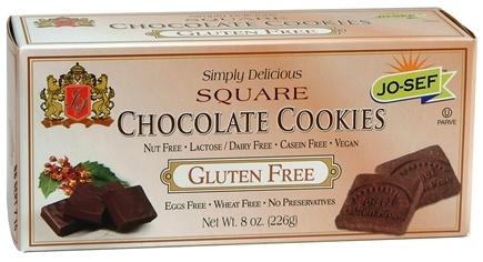 DROPPED: Josefs Gluten Free - Square Cookies Chocolate - 8 oz. CLEARANCE PRICED