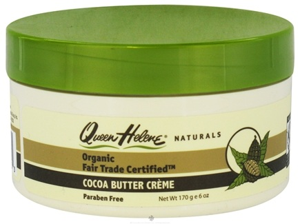 DROPPED: Queen Helene - Organic Fair Trade Certified Cocoa Butter Cream - 6 oz.
