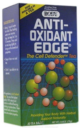 DROPPED: Body Breakthrough - Anti-Oxidant Edge The Cell Defender Tea - 30 Tea Bags