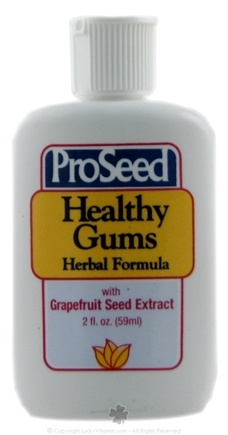 DROPPED: ProSeed - Health Gums Herbal Formula with Grapefruit Seed Extract - 2 oz.