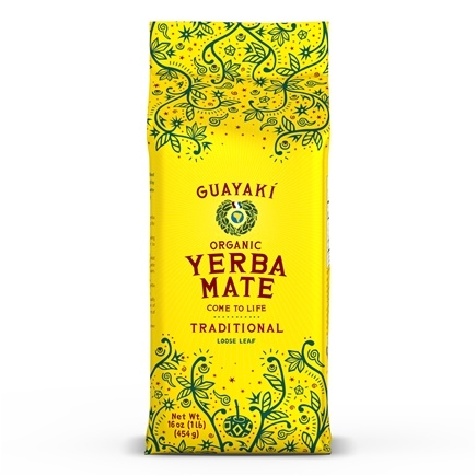 Guayaki - Traditional Loose Yerba Mate 100% Organic - 16 oz.