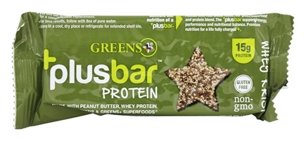 Greens Plus - + Plusbar Protein Whey Krisp - 2 oz.