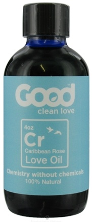 DROPPED: Good Clean Love - All Natural Love Oil Caribbean Rose - 4 oz. CLEARANCE PRICED
