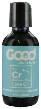 DROPPED: Good Clean Love - All Natural Love Oil Caribbean Rose - 2 oz. CLEARANCE PRICED