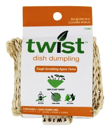 DROPPED: Twist - Biodegradable Dish Dumpling Pot Scrubber - CLEARANCE PRICED