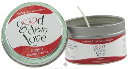 DROPPED: Good Clean Love - Passion Candle Origins - 4 oz.