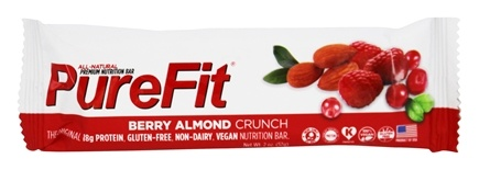 DROPPED: PureFit - All-Natural Nutrition Bar Berry Almond Crunch - 2 oz. CLEARANCE PRICED