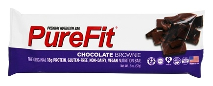 DROPPED: PureFit - All-Natural Nutrition Bar Chocolate Brownie - 2 oz. CLEARANCE PRICED
