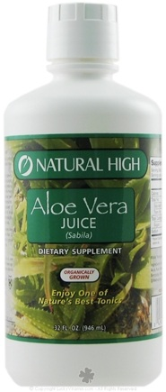 DROPPED: Natural High - Aloe Vera Juice - 32 oz. CLEARANCE PRICED
