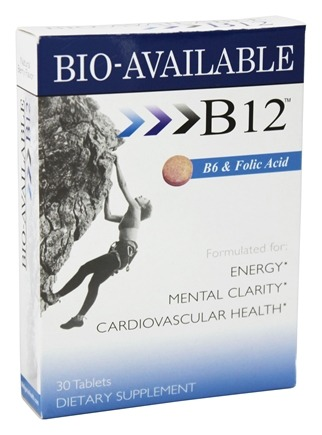 Heaven Sent - Sublingual B12 Vitamin Supplement - 30 Tablets